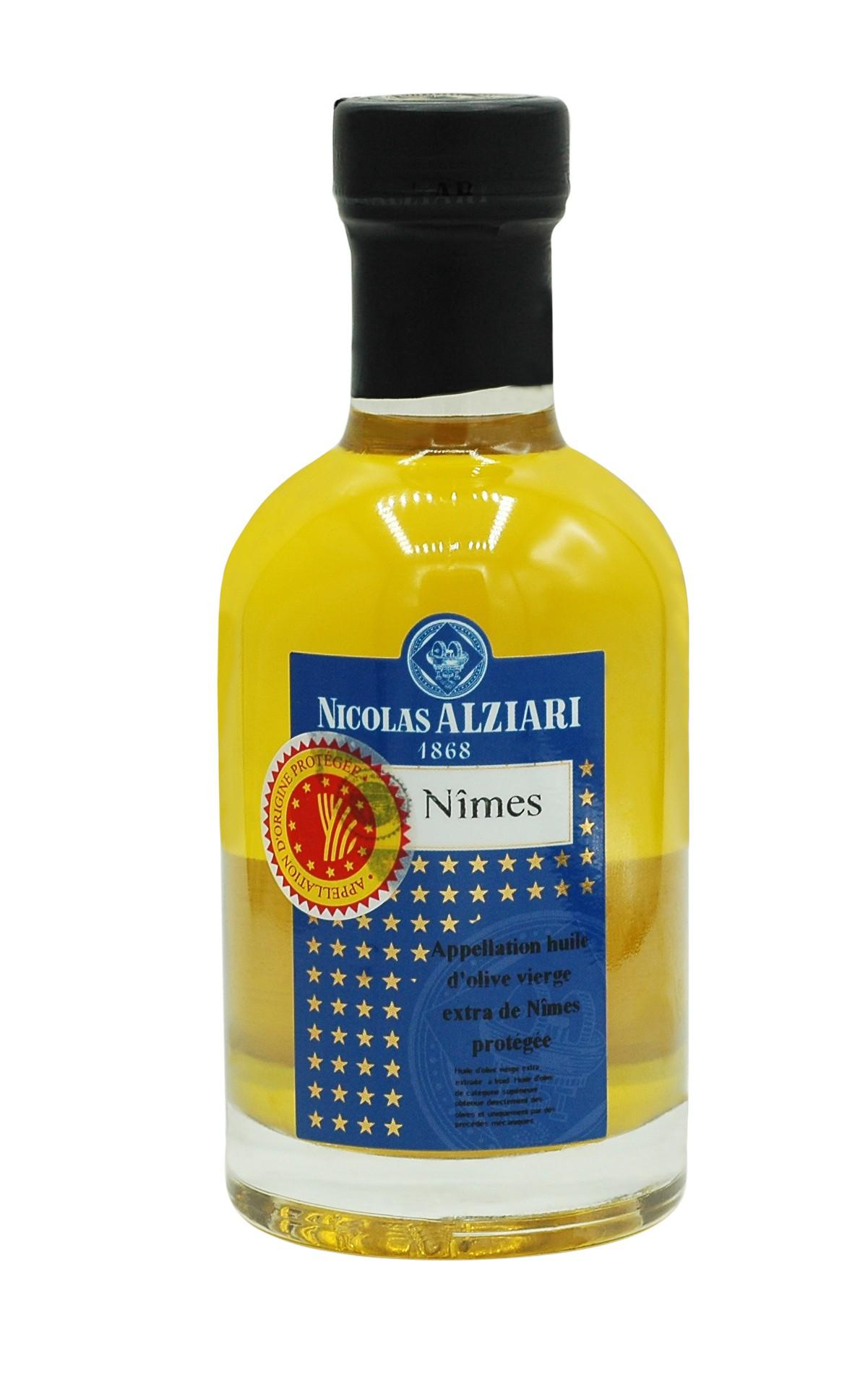 Huile d'olive de Nîmes AOP 200 ML
