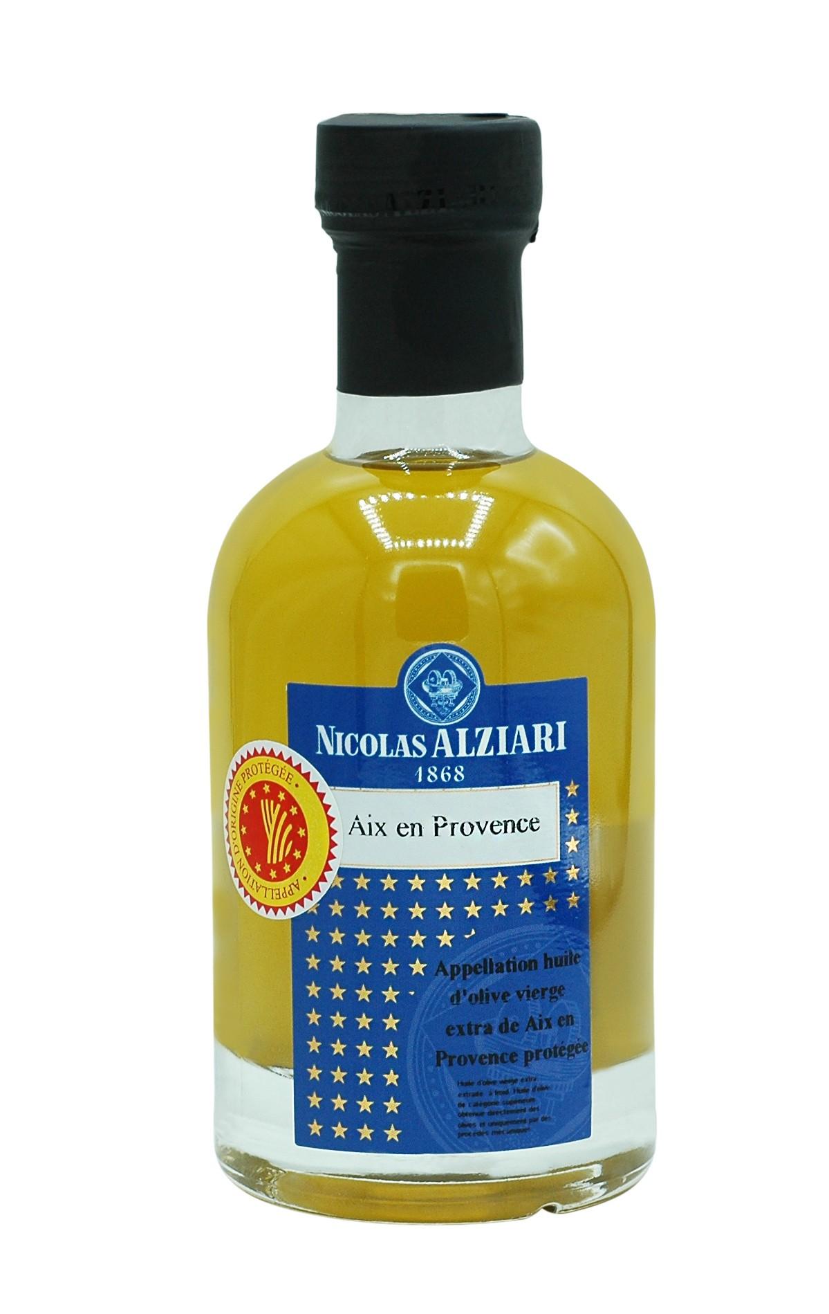 Huile d'olive d'Aix en Provence AOP 200 ML