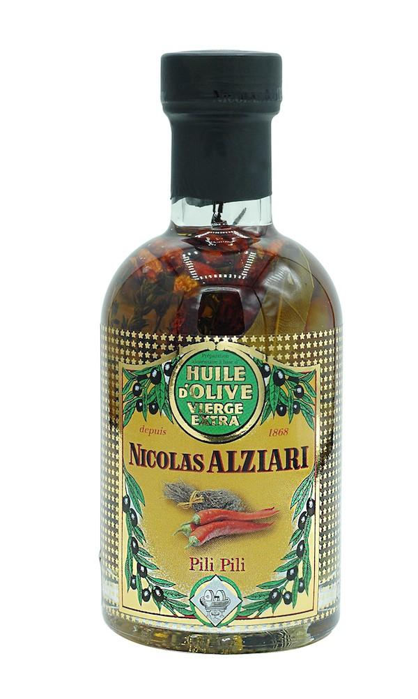 Huile d'olive pour pizza : Pili Pili 200 ml