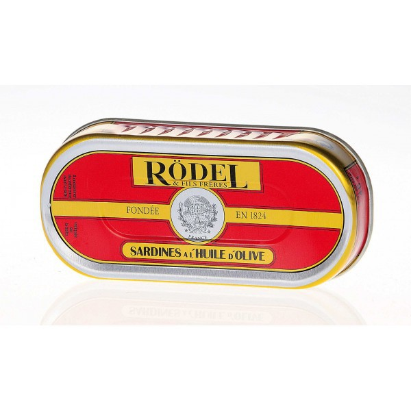 Sardine à l'huile d'olive 46gr  - Rodel