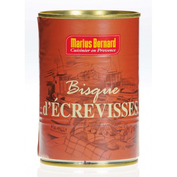 Bisque d'écrevisses 400 g
