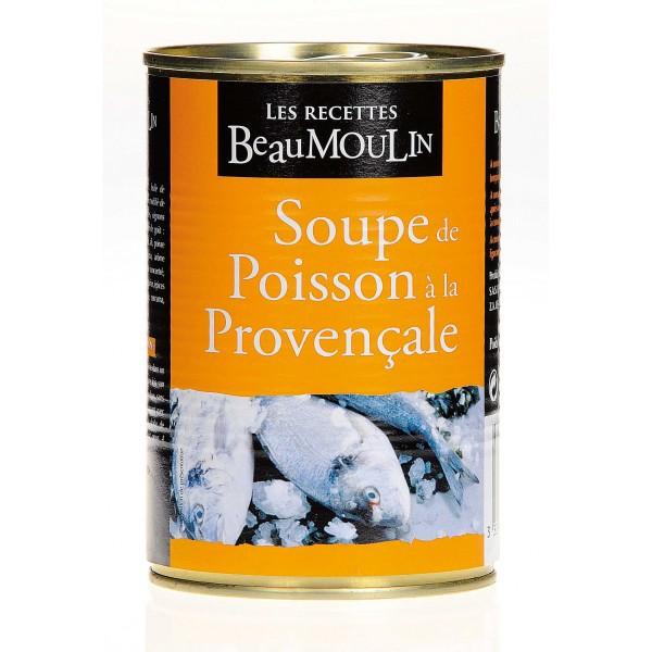Soupe de poisson Beaumoulin 400 gr