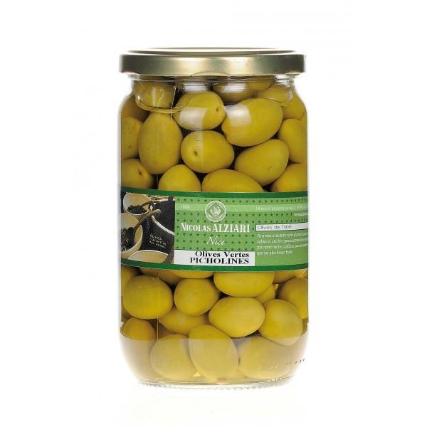 Bocal d'olives vertes Picholine 200 g