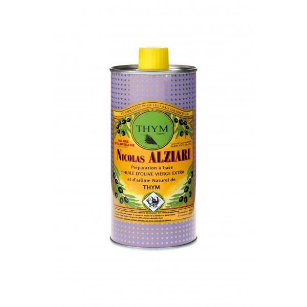 THYM - Préparation culinaire à base d'huile d'olive et d'arôme naturel  THYM 500 ML