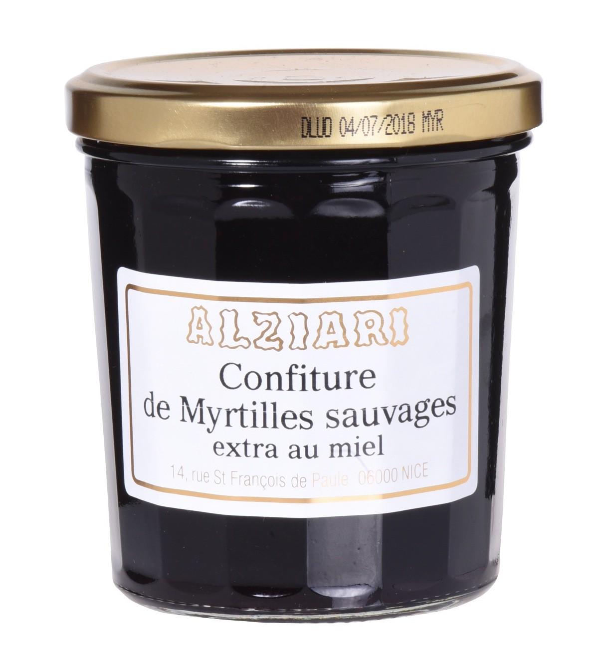 Confiture de Myrtilles 375gr