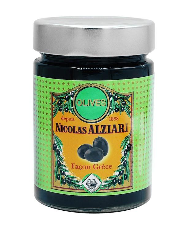 Bocal d'olives noires  220 g