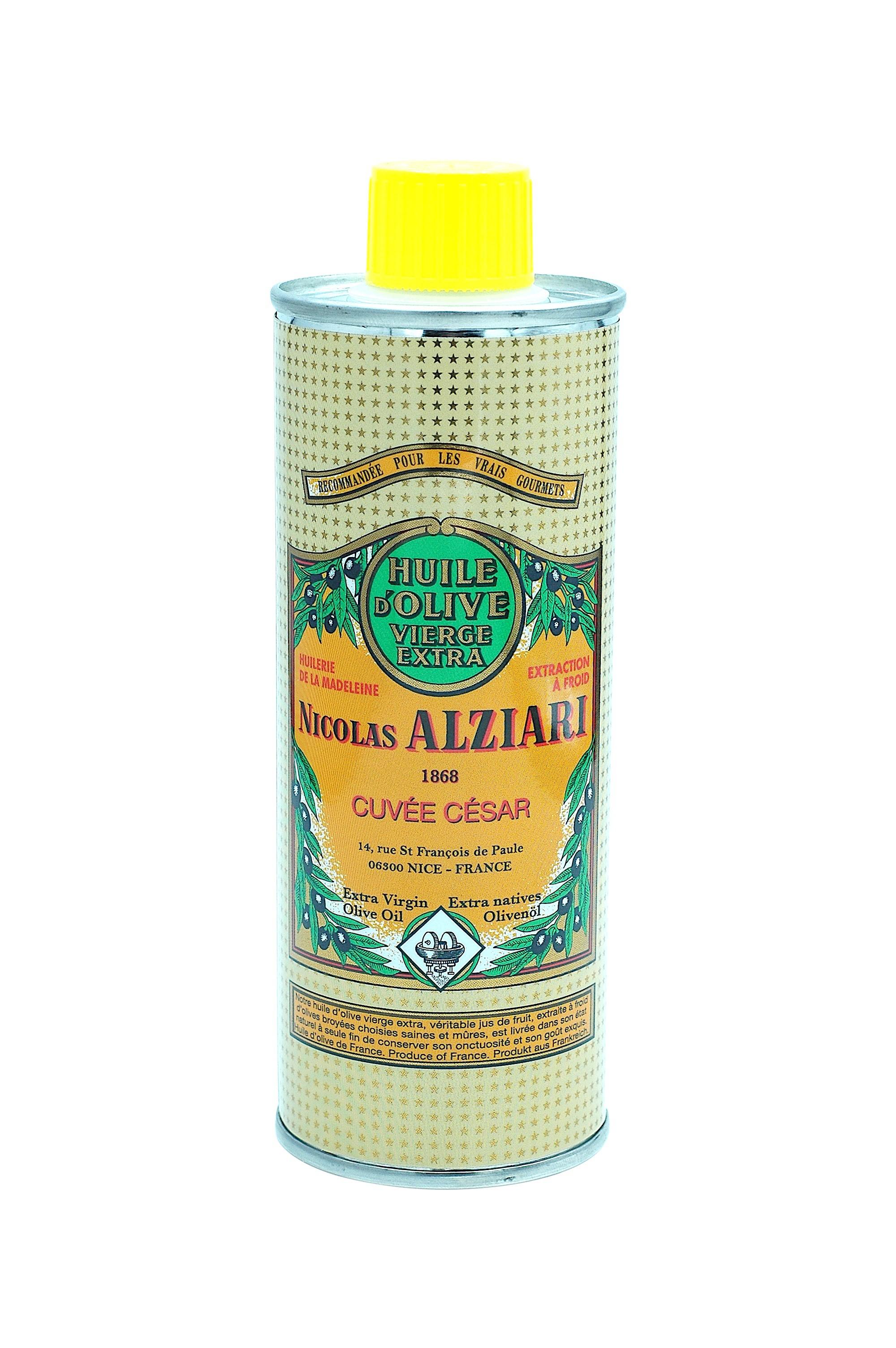 Huile d'olive Nicolas Alziari cuvée César 250 ml