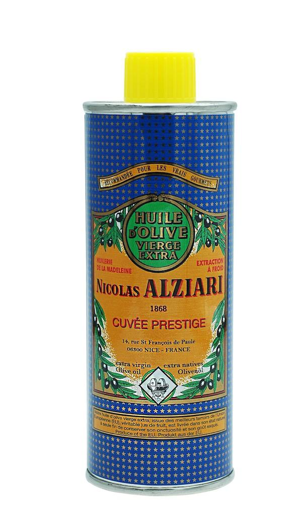 Huile d'olive Nicolas Alziari cuvée PRESTIGE 250 ml