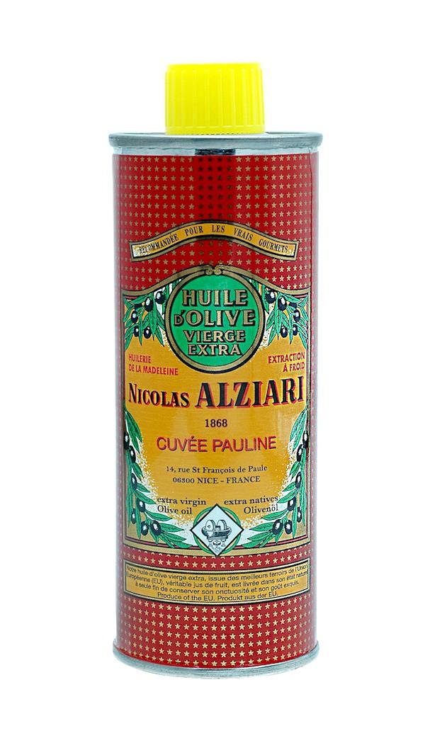 Huile d'olive Nicolas Alziari cuvée PAULINE 250 ml