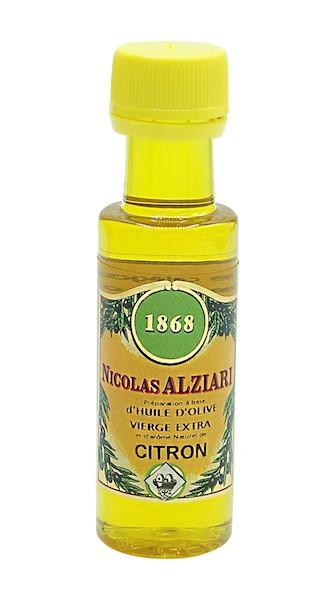 Mignonnette citron - PRÉPARATION CULINAIRE À BASE D'HUILE D'OLIVE ET D'ARÔME citron 25 ML