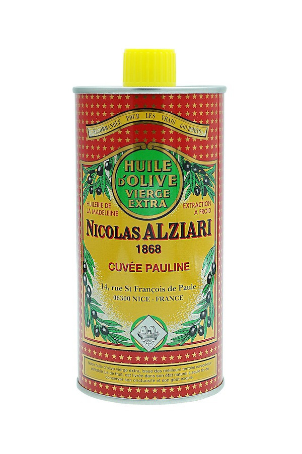 Huile d'olive Nicolas Alziari cuvée PAULINE 500 ml