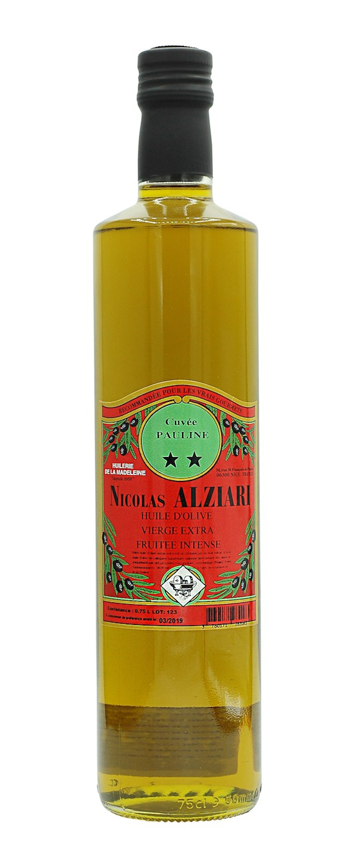 huile d'olive Nicolas Alziari cuvée PAULINE 75 cl