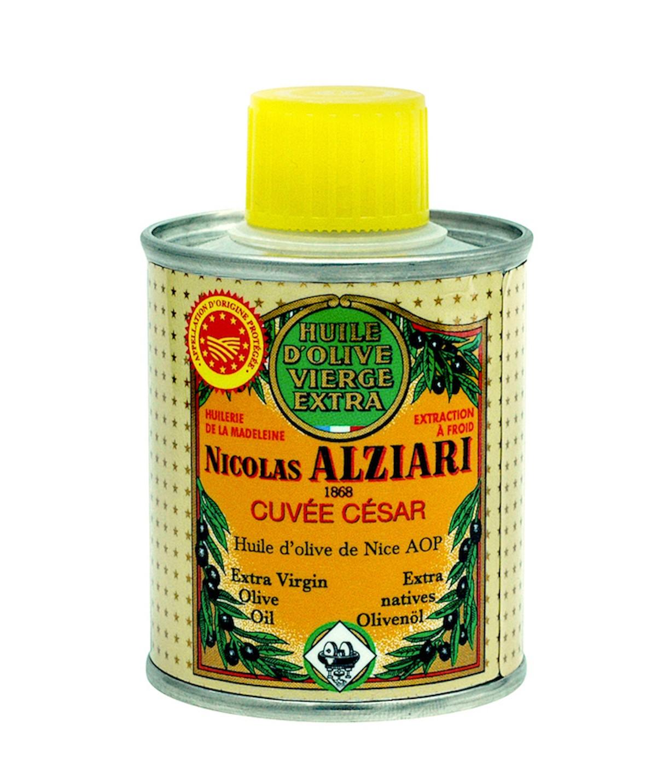 Huile d'olive Nicolas Alziari cuvée César - 100 ml (AOP Nice)