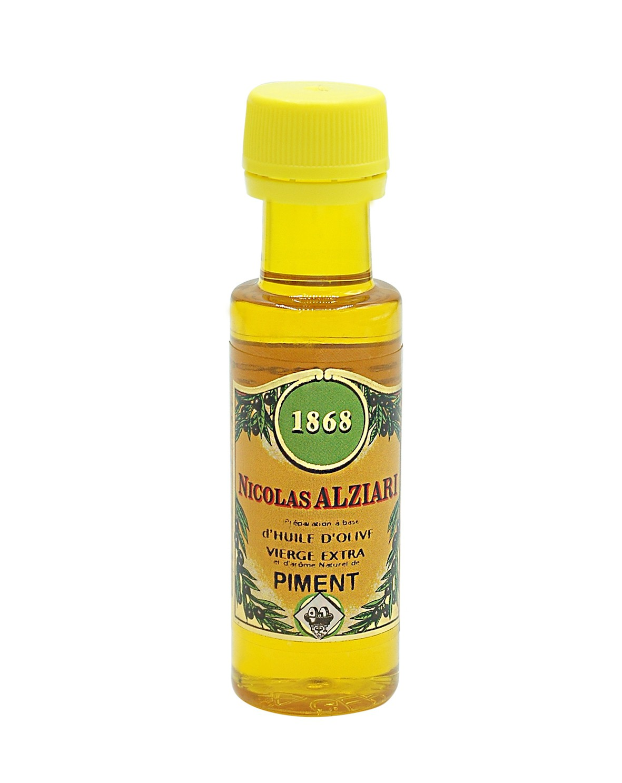 Mignonnette PIMENT - Préparation culinaire à base d'huile d'olive et d'arôme naturel PIMENT 25 ML