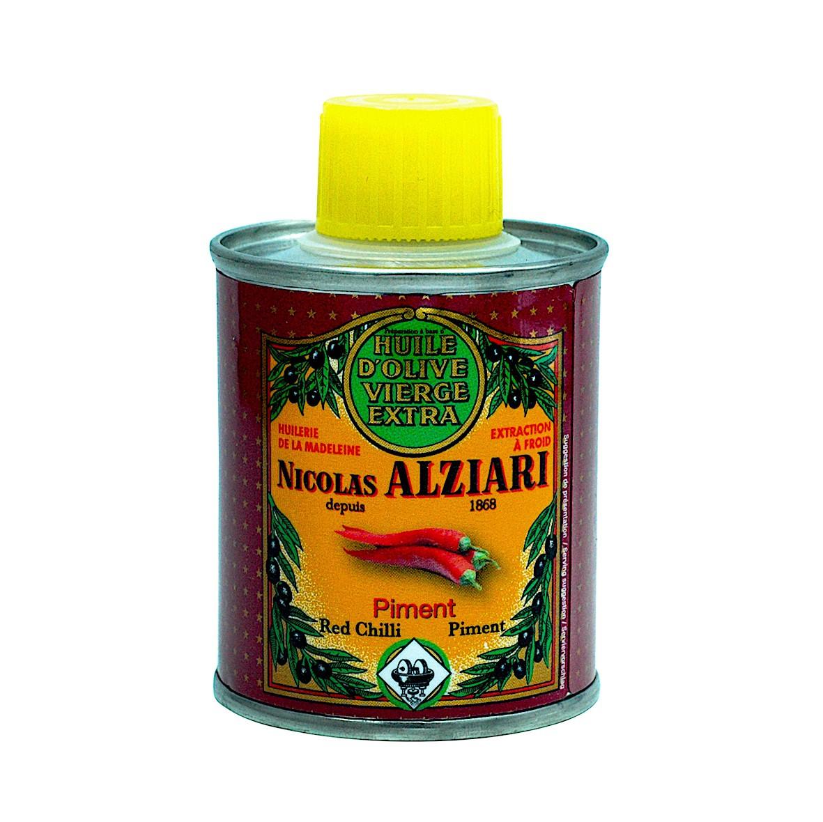 PIMENT - Préparation culinaire à base d'huile d'olive et d'arôme naturel PIMENT 100 ML