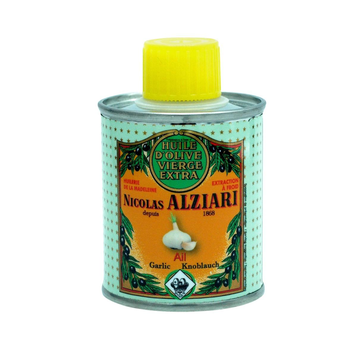 AIL - Préparation culinaire à base d'huile d'olive et d'arôme naturel AIL 100ml