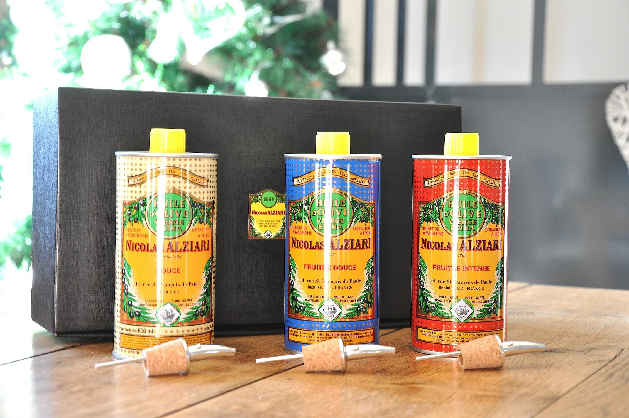 Pack Découverte Grands crus huile d'olive 3 X 500 ml