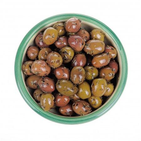 Olives aux herbes de Provence 60 g en sachet