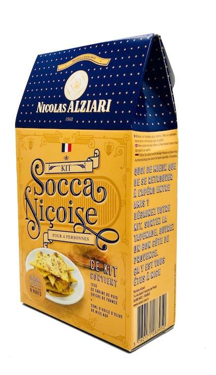 Kit Socca Niçoise pour 4 personnes