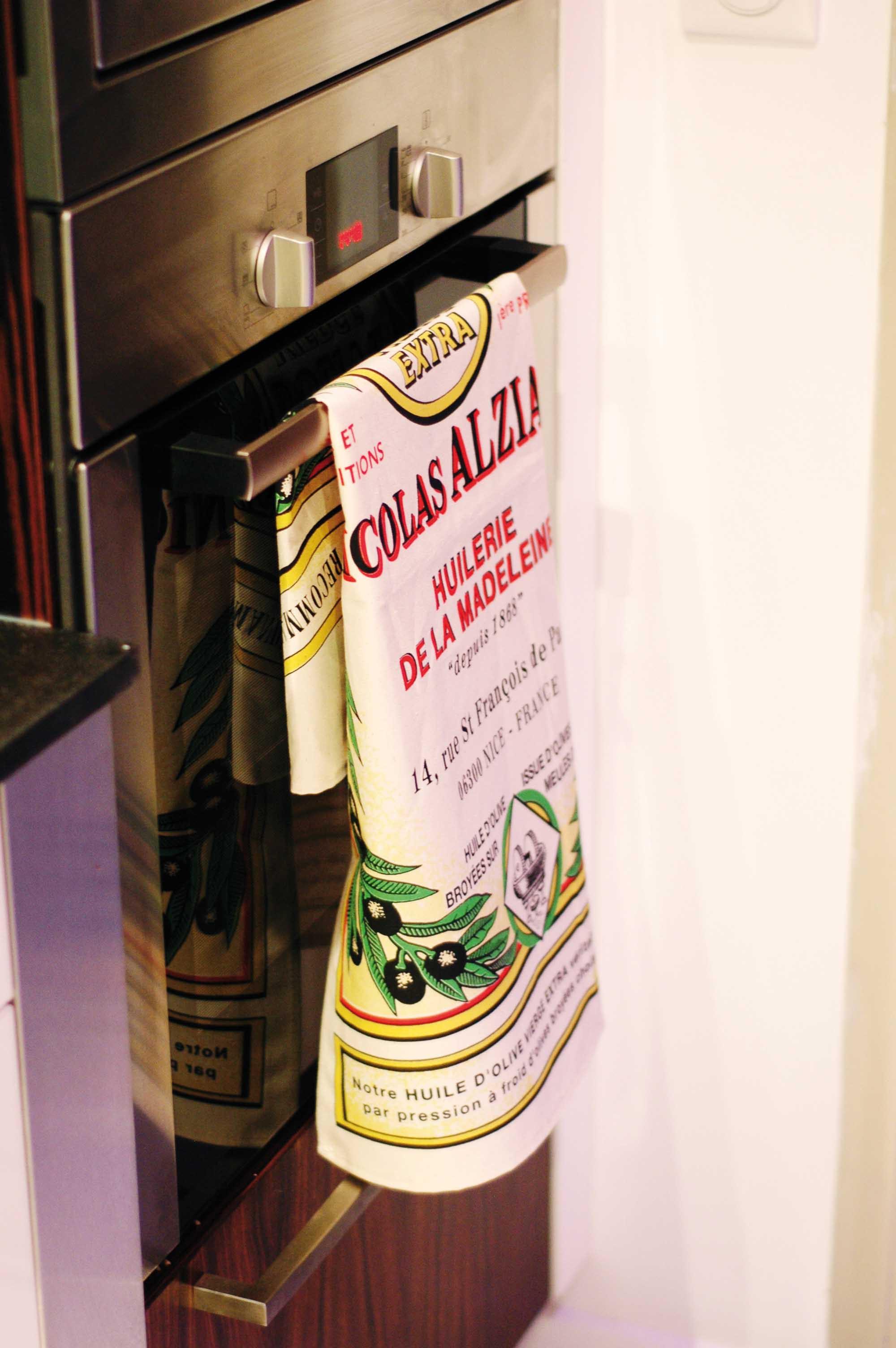 Torchon imprimé Alziari