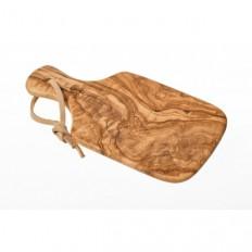 Planche à découper en bois d'olivier 26 cm
