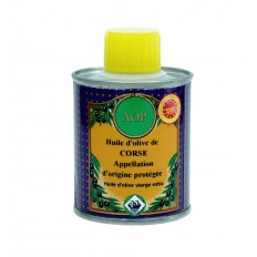 Huile d'olive de Corse AOP 100 ML