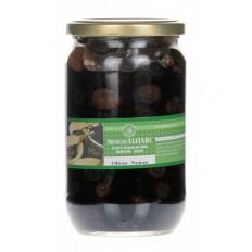 Bocal d'olives noires  480g