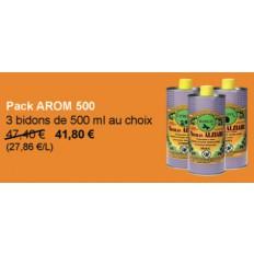 PACK AROM 500 : 3 flacons au choix sur cette page = -11% !