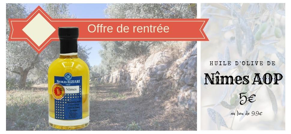 huile d'olive de Nimes