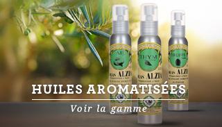 Découvrez notre gamme d'huiles arômatisées