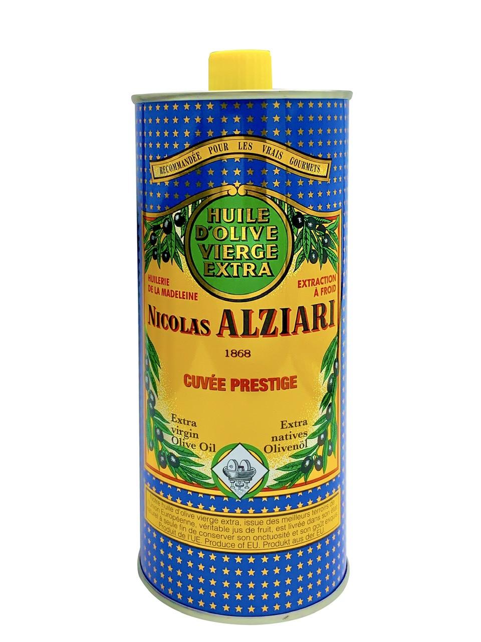 Huile d'olive Nicolas Alziari cuvée PRESTIGE 1 L