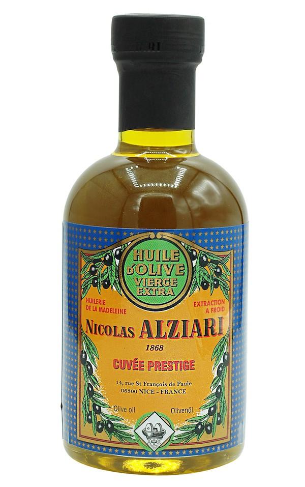 Huile d'olive Nicolas Alziari cuvée PRESTIGE 200 ml