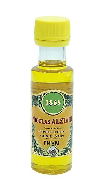 Mignonnette THYM - Préparation culinaire à base d'huile d'olive et d'arôme naturel  THYM 25 ML