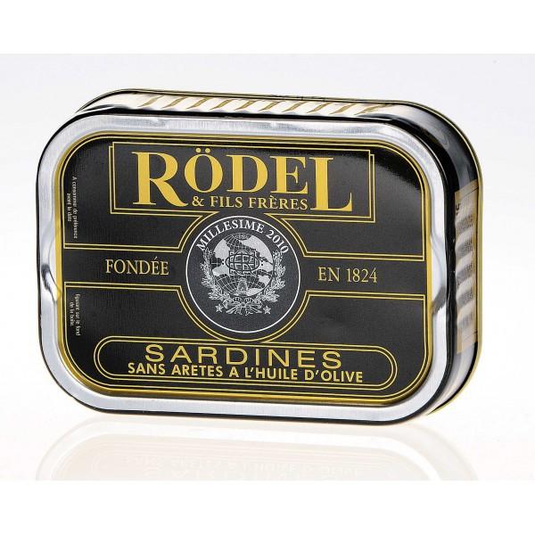 Sardines à l'huile sans arêtes 115 gr