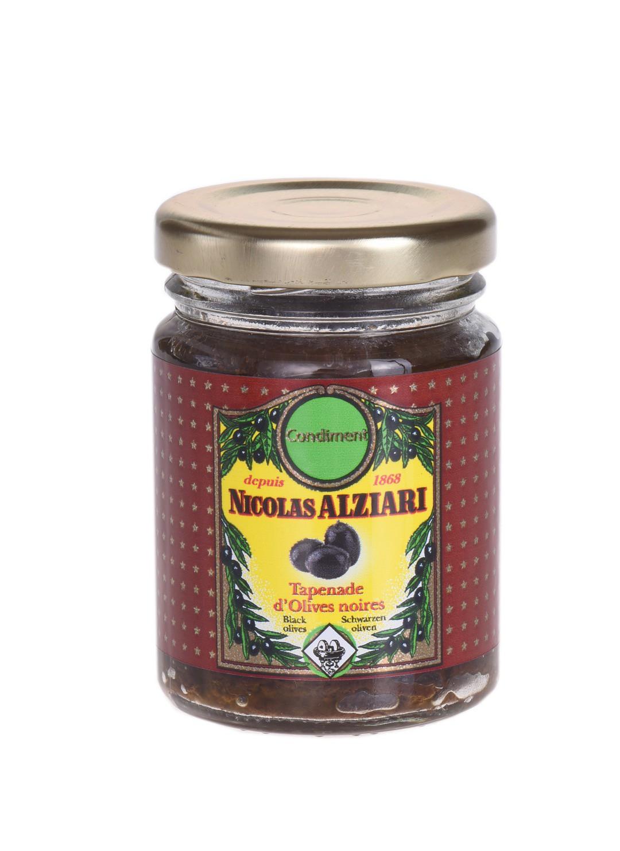 Tapenade d'olives Noires 80 gr