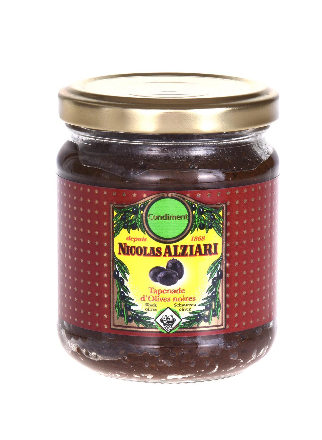 Tapenade d'olives Noires 180 gr
