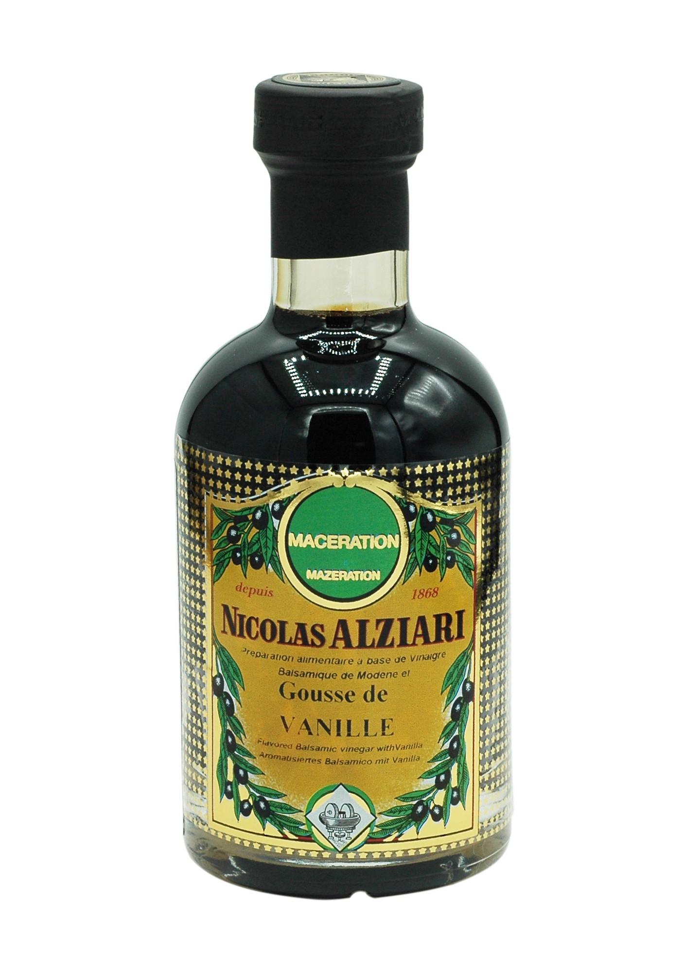 Vinaigre balsamique à la Gousse de Vanille 200 ml
