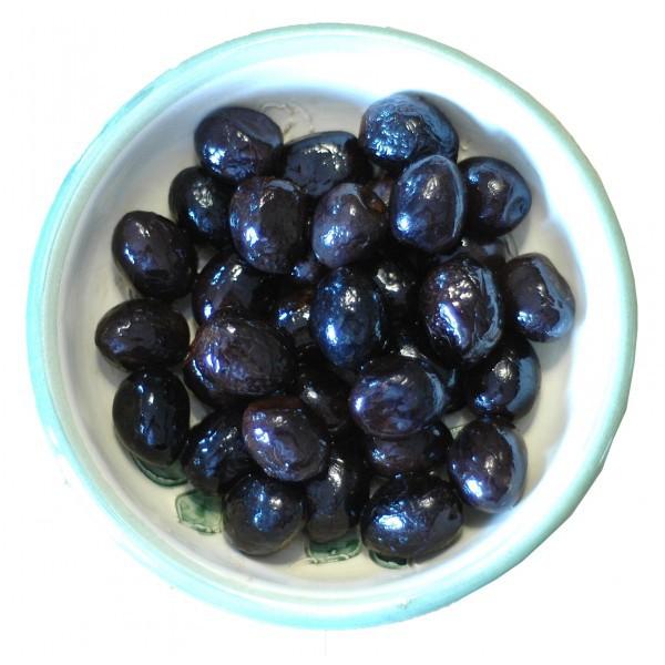 Olives noires façon Grèce 60 g en sachet