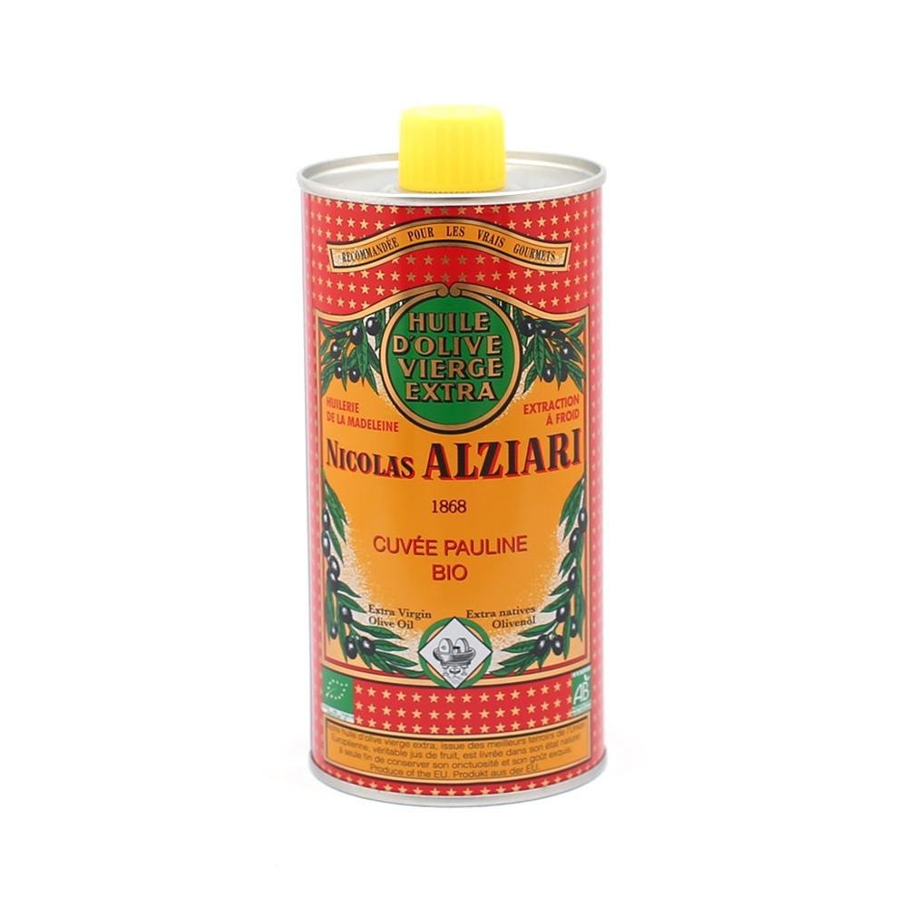 Huile d'olive Nicolas Alziari cuvée PAULINE 500 ml - Bio*