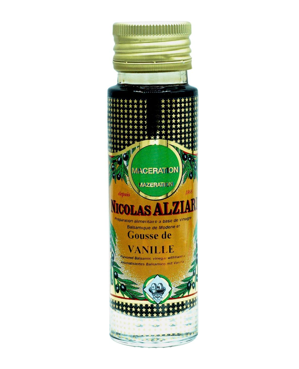 Vinaigre balsamique à la Gousse de Vanille 100 ml