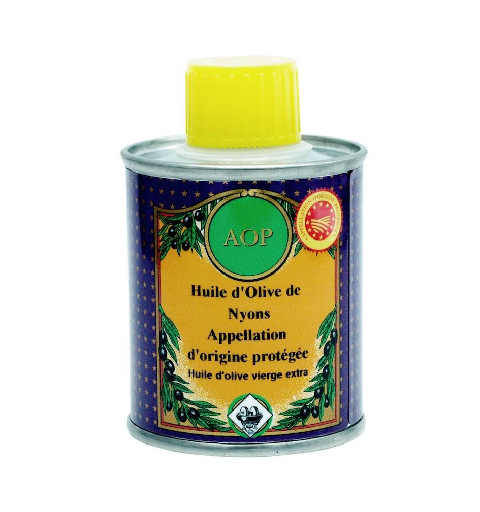Huile d'olive de Nyons AOP 100 ml (Bidon)