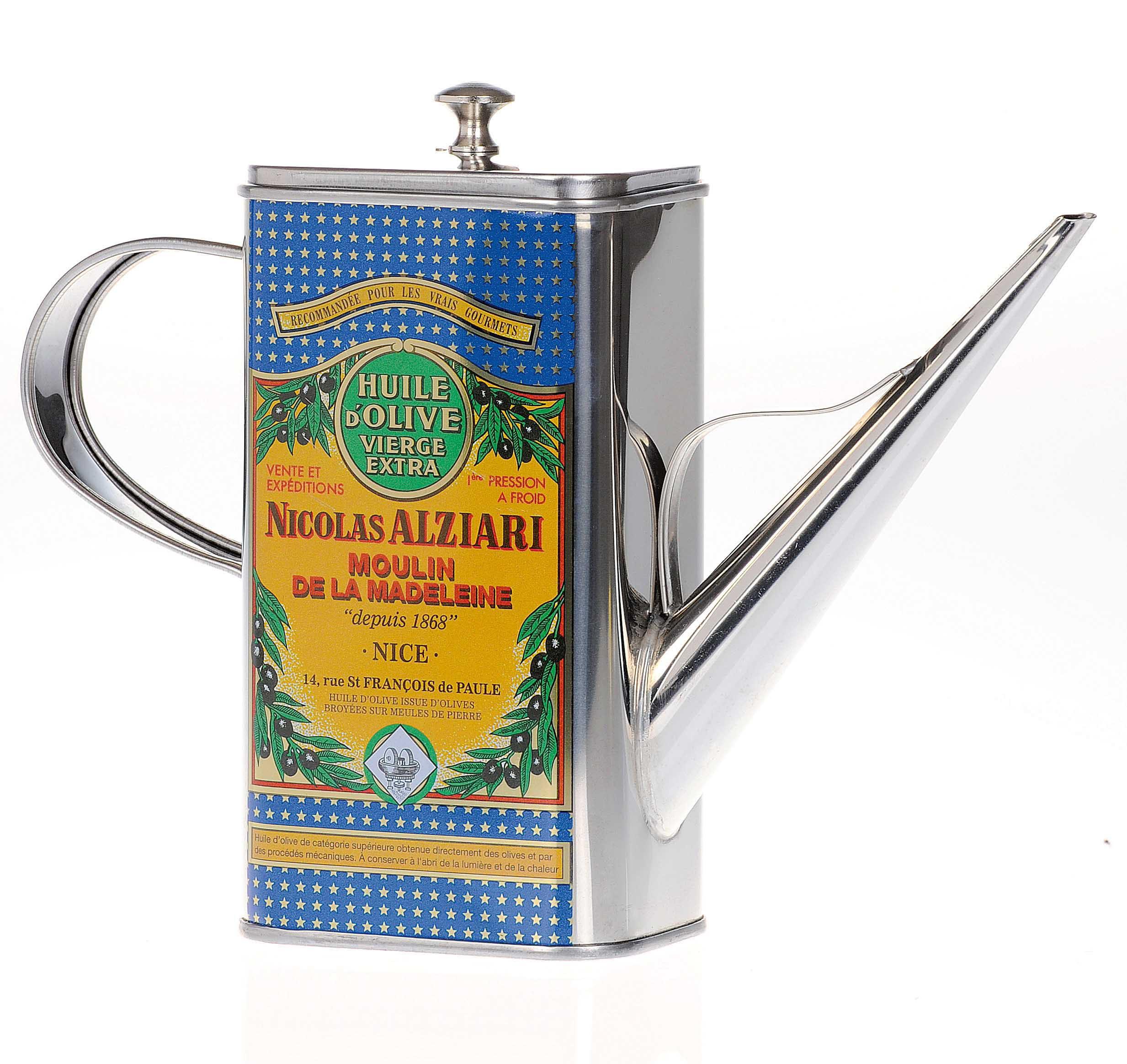 Huilier - arrosoir à huile d'olive Alziari