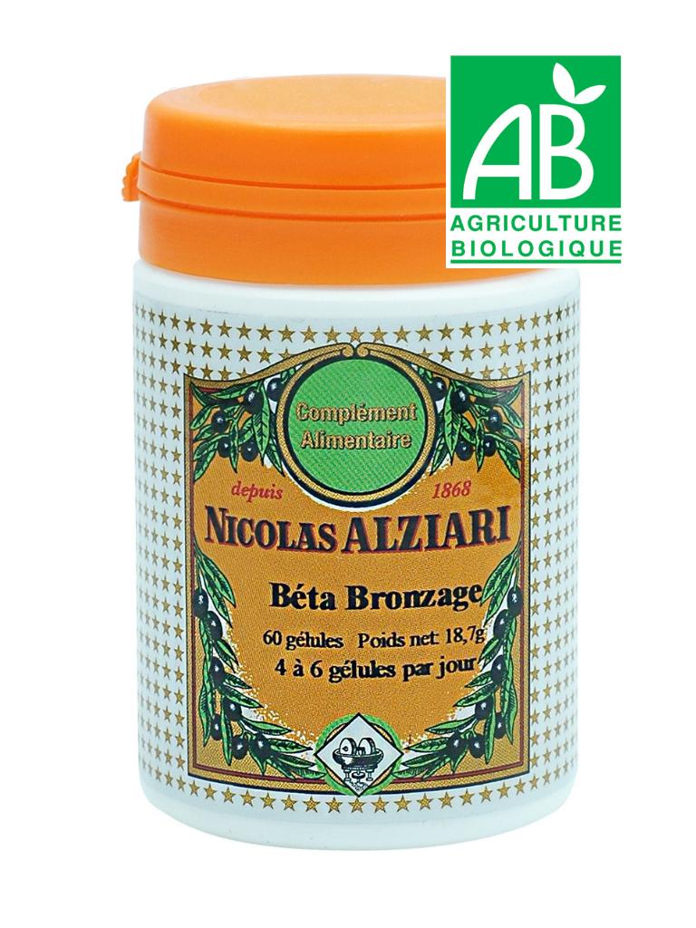 Bêta Bronzage 60 gélules (complément alimentaire)