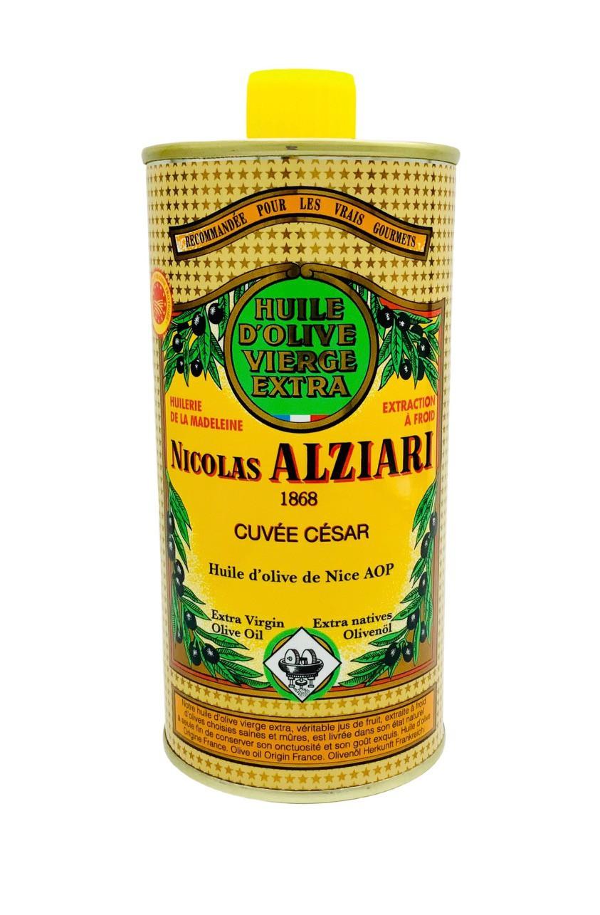 Huile d'olive Nicolas Alziari cuvée César 500 ml (AOP Nice)