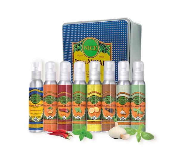 Coffret Huiles aromatisées