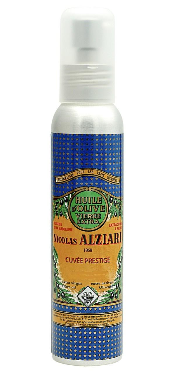Huile d'olive Nicolas Alziari cuvée PRESTIGE - 100 ml (flacon pompe)