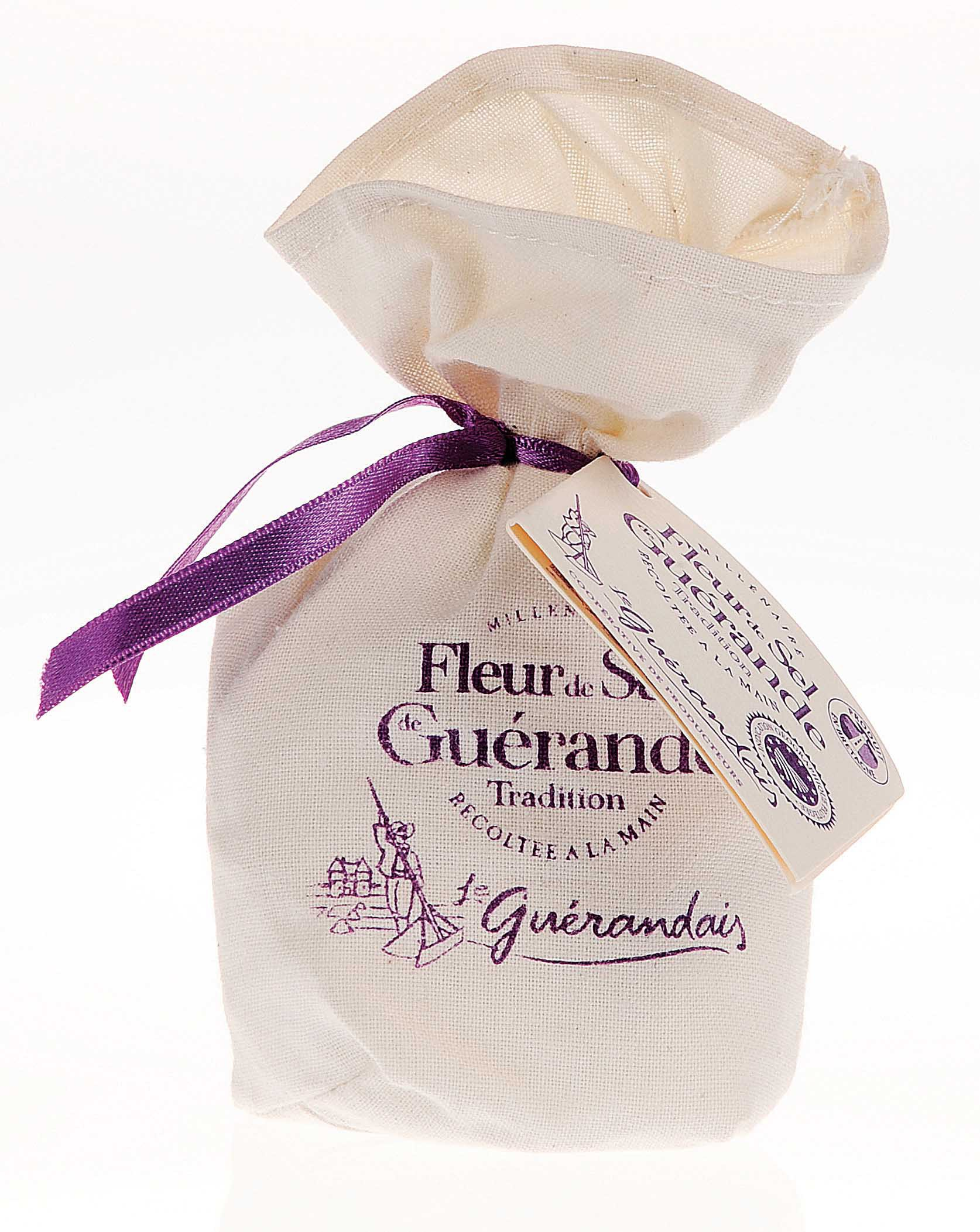 Fleur de sel de Guérande toile 250 gr