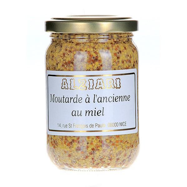 Moutarde à l'ancienne au miel 210 gr