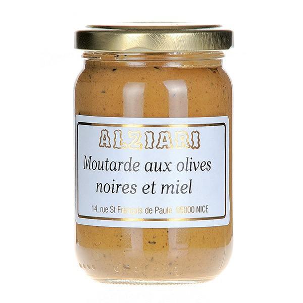 Moutarde aux olives Noires 210gr