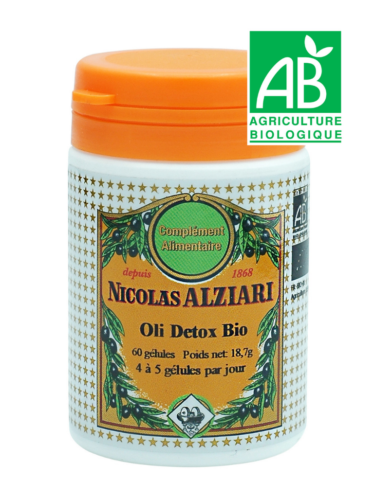 Oli Detox Bio 60 gélules (complément alimentaire)